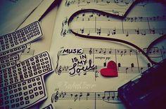 cuteness, heart, letters, love, music