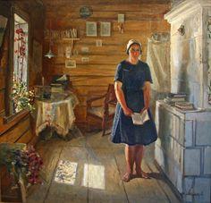 Терпсихоров Николай Борисович (Россия, 1890-1960) «Моя жена Надя»