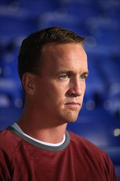 Peyton Manning-doesn't matter who he plays for, he's the man!
