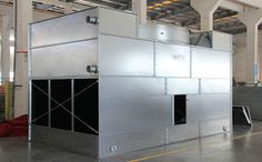 Hybrid cooling towers are mixed flow closed circuit cooling towers that provide efficient cold water temperatures with enhanced water conversation and reduced visible plume.