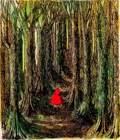 Meghan Hill: Little Red Riding Hood and Arthur Rackham