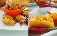 edu-guedes- Bolinho de bacalhau e acarajé de mandioca