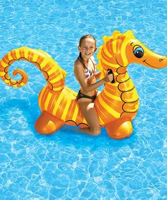 Look at this Sea Horse Jumbo Rider on #zulily today!
