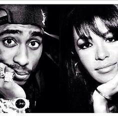 Tupac + Aaliyah♥☻