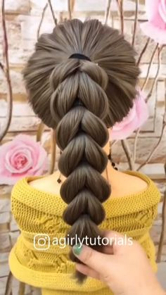 Visit to get around hairstyle tips nail art and a variety of needs for a healthy body Hairstyle Haircare Nailart naildesign Cute Little Girl Hairstyles, Easy Hairstyles For Long Hair, Hairstyles For School, Ponytail Hairstyles, Cute Hairstyles, Beautiful Hairstyles, Party Hairstyles, Black Hairstyles, Hairstyles Videos