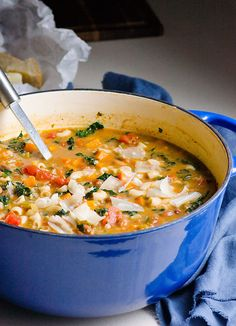 Creamy Minestrone Soup