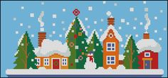 Beaded Ornaments, Close Image, Winter Time, Merry Christmas, Cross Stitch, Kids Rugs, Arrow Keys, Holiday Decor, Colorful
