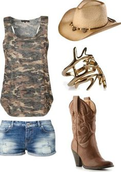 Country look. Mode Country, Country Look, Estilo Country, Country Girl Style, Country Fashion, Country Girls, My Style, Country Wear, Country Girl Outfits