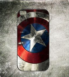 Captain America Shield The Avengers Iphone 4 Case,