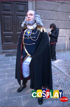 Charles Zi Britannia Cosplay from Code Geass in LUCCA COMICS AND GAMES 2013 IT