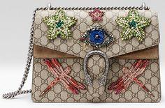 Sac Dionysus City bag, Dubaï de Gucci avec des libellules et des étoiles