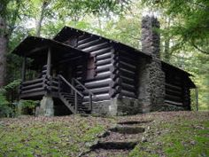 Cabin No. 7 at Cabwaylingo State Forest West Virginia