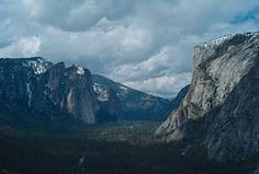 Yosemite, Parque, Naturaleza, Nacional