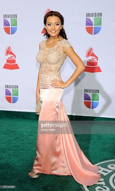 Actress Angelique Boyer arrives at the 12th annual Latin GRAMMY Awards at the Mandalay Bay Resort & Casino on November 10, 2011 in Las Vegas, Nevada.