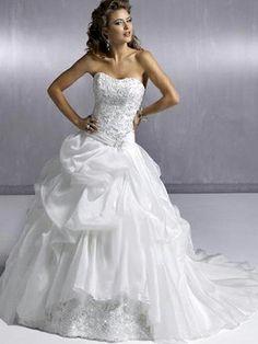 Lucy-Vestido de Noiva em organza - dresseshop.pt