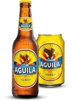 Cerveza Aguila Botella X 330ml Beers Of The World, Oclock, Bottle Design, Fun Drinks, Gods Love, Craft Beer, Beer Bottle, Brewing, Ale
