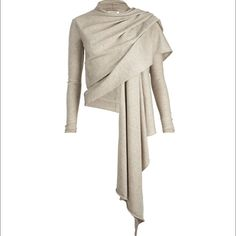 All saints pirate cardigan in beige New All Saints Sweaters Cardigans