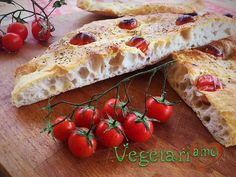 Focaccia Presto la ricetta su vegetariamo.it