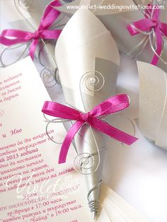 """""""Scroll"""" Wedding Invitation, Violet Handmade Wedding Invitations Scroll Wedding Invitations, Handmade Wedding Invitations, Wedding Stationery, Wedding Aisles, Wedding Cards, Wedding Stuff, Wedding Ideas, Party Stuff, Different Colors"""