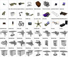 Sketchup Office 3D models download – CAD Design | Free CAD Blocks,Drawings,Details