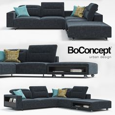 Sofa Hampton Boconcept 3D Max - 3D Model