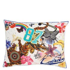 Christian Lacroix Roller Coaster Mulitcolore Throw Pillow | DG