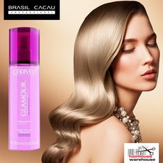 Every woman deserves effortless beauty and sleek, silky hair. Use BRASIL CACAU Glamour Precious Fluid to improve every hairstyle. Get it here: https://www.hairhousewarehouse.co.za/brands/brasil-cacau/brasil-cacau-glamour-precious-fluid?utm_source=Facebook&utm_medium=Social_CPC&utm_campaign=Products&utm_content=Brasil-Cacau-Glamour-Fluid