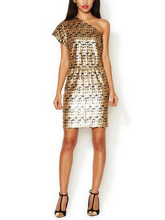 Cut A Rug Sequin Sheath Dress