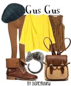 """Gus Gus"" by lalakay ❤ liked on Polyvore"
