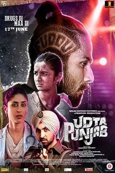 Abhishek Chaubey's Udta Punjab soared high at the box office in the first weekend as the movie has made a good collection. This Shahid Kapoor, Alia Bhatt, Diljit Dosanjh and Kareena Kapoor starrer INR Films Hd, Imdb Movies, Streaming Hd, Streaming Movies, Shahid Kapoor, Kareena Kapoor, Disney Pixar, Udta Punjab, Indian