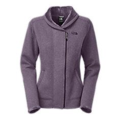 the Banderitas Full Zip adds some visual interest with the off venter zip and furry collar #hoh