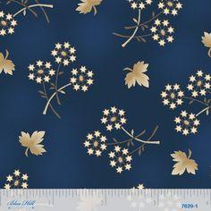 Civil War Fabric Blue Hill Fabric Old Glory blue 2174