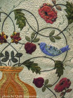 Quilt Inspiration: William Morris for applique lovers