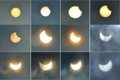 Partial solar eclipse – The most beautiful thing in 2015