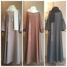 Simple but nice look Moslem Fashion, Arab Fashion, Islamic Fashion, Mode Abaya, Mode Hijab, Modest Fashion, Fashion Dresses, Hijab Style Dress, Abaya Designs