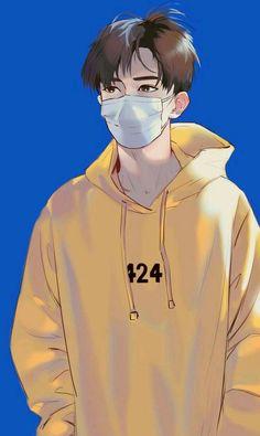 Anime Guys My ideal type Anime Boys, Cool Anime Guys, Cute Anime Boy, Anime Art Girl, Manga Anime, Manga Boy, Cute Cartoon Boy, Handsome Anime, Anime Scenery