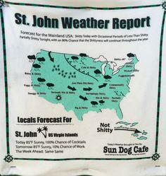 St John Weather