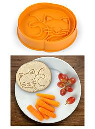 New Arrivals - Purebreads Cat Bread Cutter Stamp by Fred & Friends Home Decor