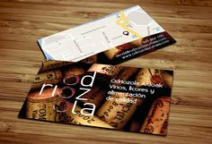 Diseño de tarjetas de visita Odriozola Ardoak | Dolphin Tecnologías