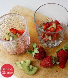 Kiwi-Strawberry Crush - Tart kiwi and sweet, spring strawberries make this kiwi-strawberry cocktail super delicious with no added sugars needed.