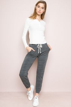 Brandy ♥ Melville |  Rosa Sweatpants - Clothing