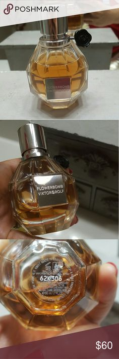Flowerbomb perfume 90% full  1.7oz Authentic Viktor & Rolf Other