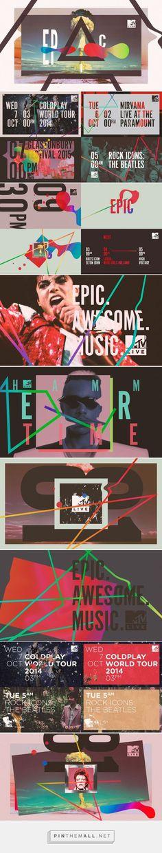 FRESH MTV Live on Behance - created via :