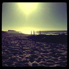Clifton Beach Sundown