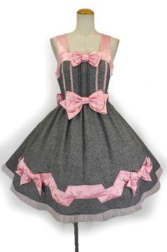 angelic pretty リボンリボンジャンパースカート