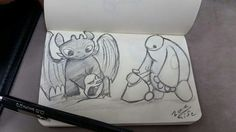 Favorite disney characters in one sketch