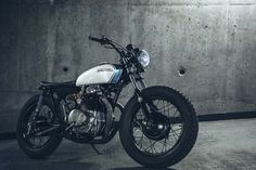 "1972 CB350 ""Maggie May"" by Alex Burrows of #BurrowsBuilds in Toronto, Canada. #hondabrat http://facebook.com/hondabrats"