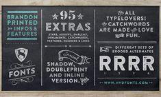 Brandon Printed Font Sample