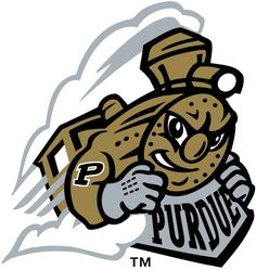 Purdue Boilermakers Alternate Logo on Chris Creamer's Sports Logos Page - SportsLogos. A virtual museum of sports logos, uniforms and historical items. First Football Game, College Football, Purdue University, Virtual Museum, Sports Logo, School Design, Tigger, Disney Characters, School
