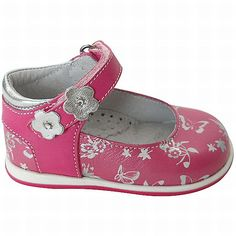 Pink with flowers. Bubblegummers by Bata #batashoes
